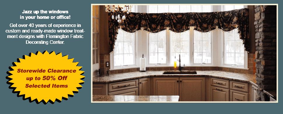 Fabrics | Flemington, NJ | Flemington Fabric Decorating Center | 908-782-5111