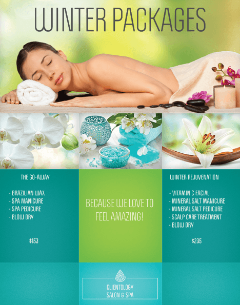 Clientology Salon Spa Package