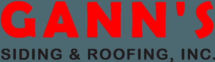 Gann's Siding & Roofing Inc. - Logo