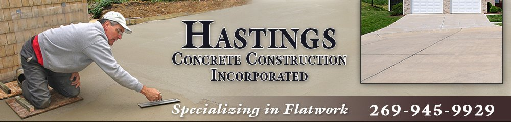 Concrete Contractors - Hastings, MI - Hastings Concrete Construction Incorporated