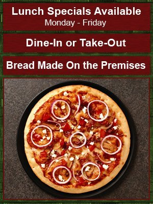 Pizza Menu - Lewistown, PA - Joe's Original Italian Pizza