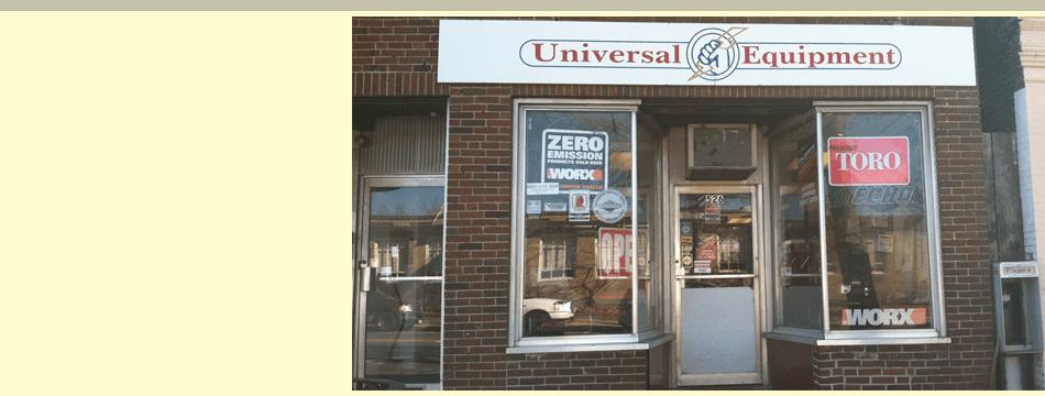 Store of universal equipment