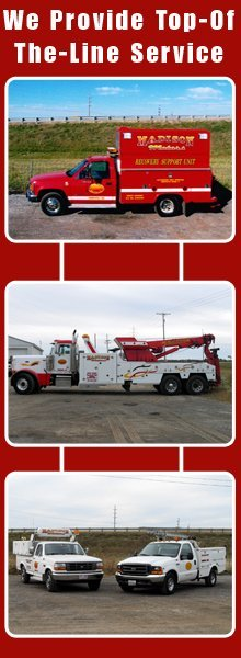 Towing Service - Fremont, OH - Madison Motor Services Inc.