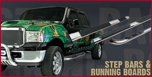 Step Bars - Hattiesburg, MS - Trucks Plus Auto Accessories