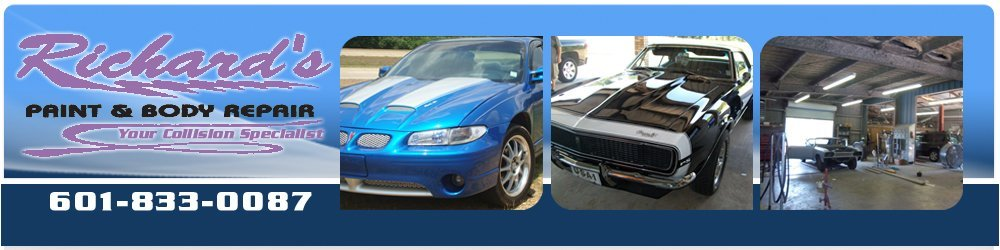 Auto Repair - Brookhaven, MS - Richard's Paint & Body Repair