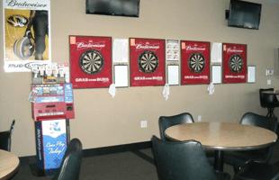 Playoffs sports bar area