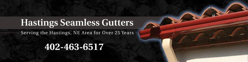 Gutters - Juniata, NE - Hastings Seamless Gutters