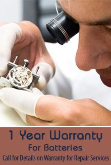Watch Repair Shop - Chicago, IL - A D Watch Repair Services, Inc.