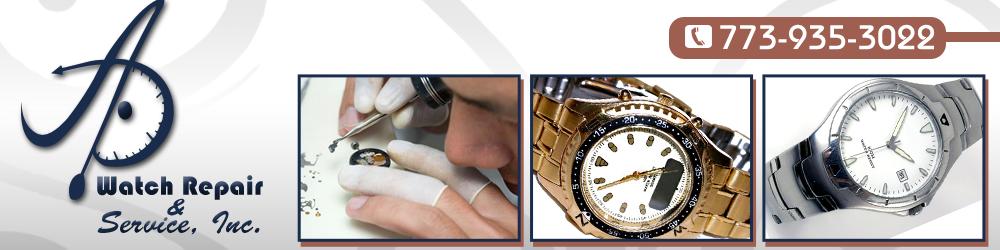 Watch Repair Shop Chicago, IL - A D Watch Repair & Services, Inc.