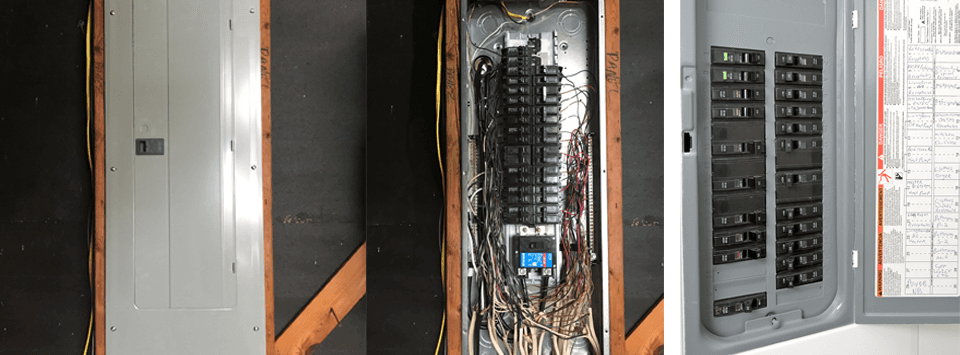 Breaker box repair