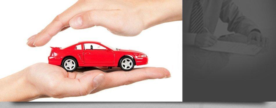 Model car on hand
