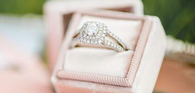 Diamonds used on wedding ring