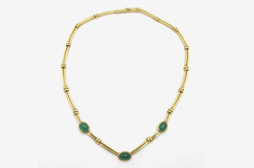 Estate emerald necklace