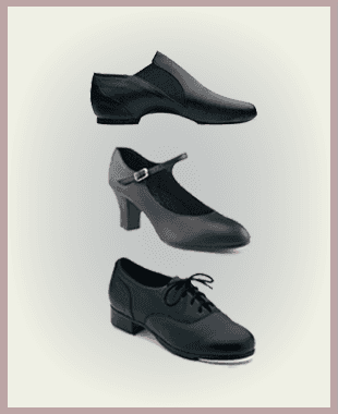 Tap, jazz, ballroom and dance shoes at Lines for the Body