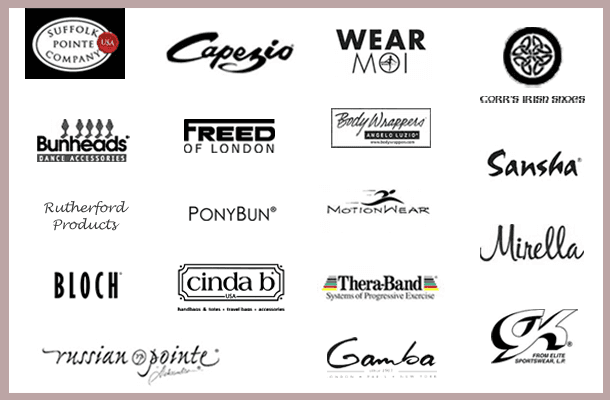Logos of merchandise sold at Lines For The Body, VT