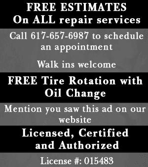 Auto Services  - Quincy, MA - A & W Motors