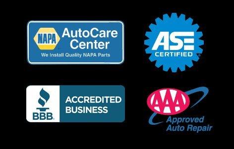 NAPA | ASE | BB | AAA Logo