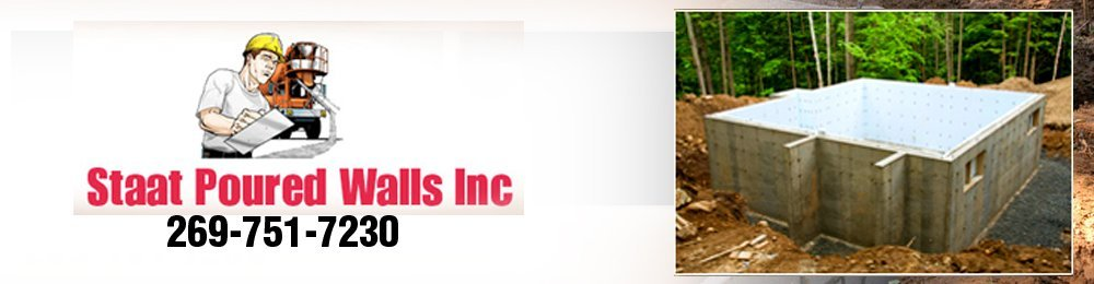 Concrete Contractors Hamilton, MI - Staat Poured Walls Inc