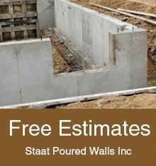 Concrete Contractors - Hamilton, MI - Staat Poured Walls Inc