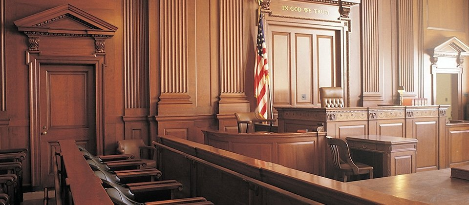 Municipal court room