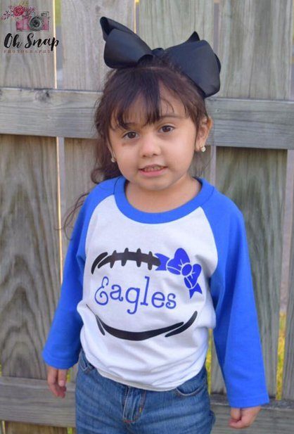 Kid in Eagle Shirt