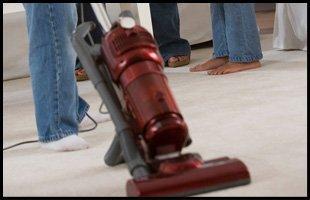 Trying new vacuum