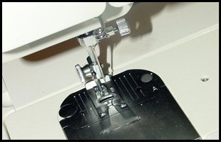 Repaired sewing machine