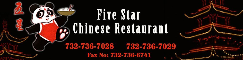 Five Star Chinese Restaurant - Toms River, NJ - Chinese Restaurant