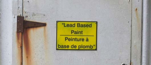 Lead-based paint inspection