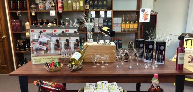 Variety of liquors and wines