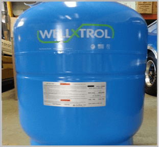a residential water tank