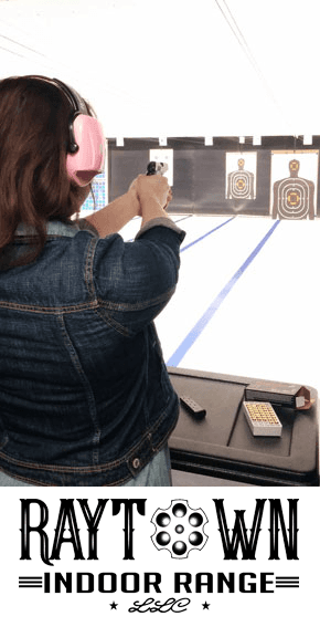 Indoor Range Classes| Raytown, MO | Blue Steel Guns & Ammo | 816-358-8004