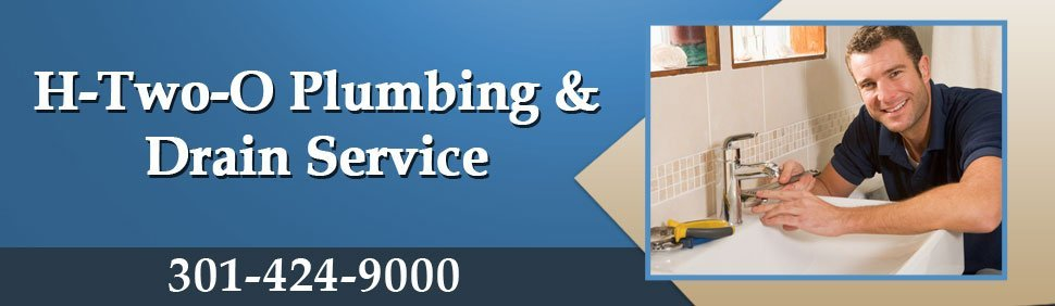 Plumbing repairs, water and sewer line services - H-Two-O Plumbing & Drain Service - Rockville, MD