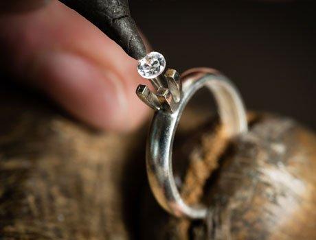 Ring repairing
