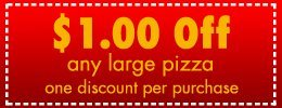 Coupon -  Prospect, OH Pierce's Pizza & Drive Thru