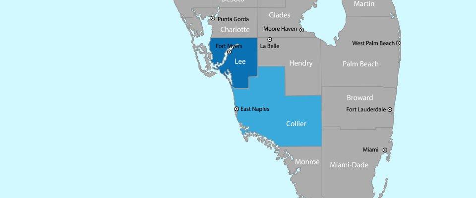 Paul S Munizzi Inc- Service Area Map