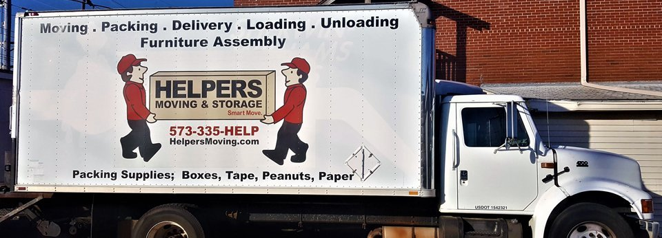 Helpers Moving & Storage Truck