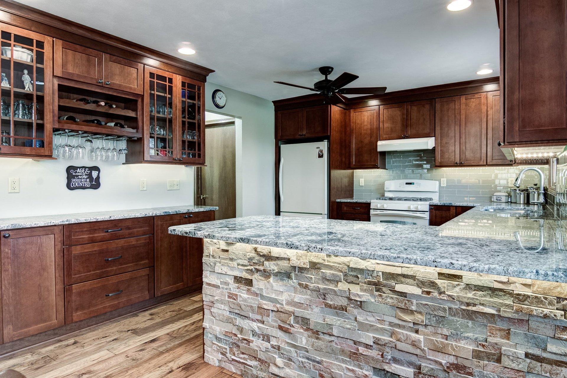 new leaf remodeling llc kitchen gallery rockford il