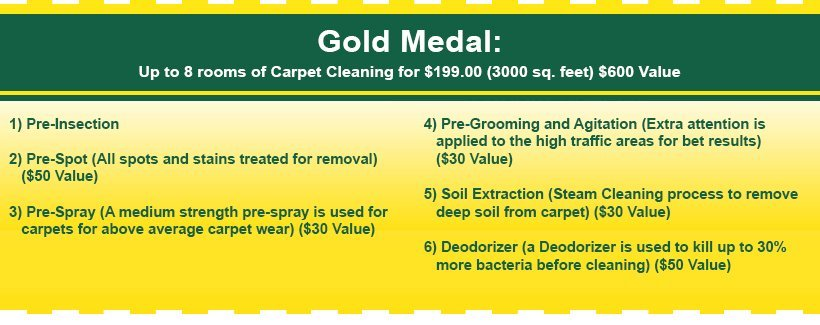 Specials - Sherwood, OR   - Allbright Carpet Cleaning