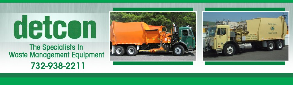Automated Body Garbage Trucks - Detcon - Farmingdale,  NJ