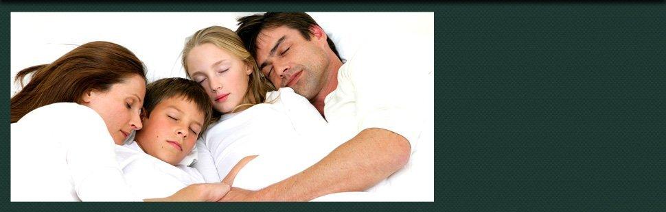 Family sleeping
