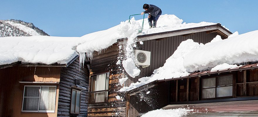 Reliable Rooftop Snow Removal Services
