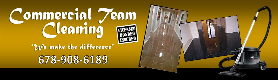 Commercial Cleaning Contractors - Atlanta, GA - Commercial Team Cleaning