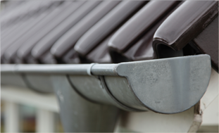 newly fixed gutters