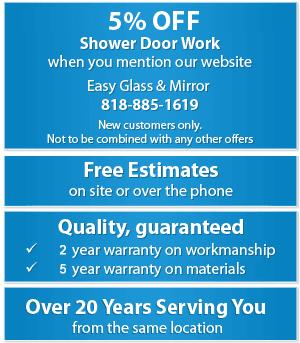 Shower Doors - Northridge, CA - Easy Glass & Mirror