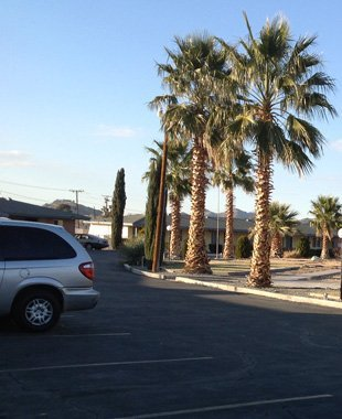 Outside view of the motel