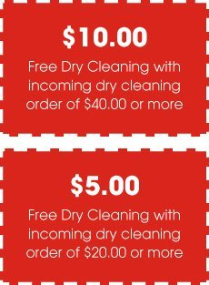 Citrus Village Cleaners & Shirt Laundry Coupon