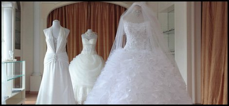 Beautiful preserved gowns