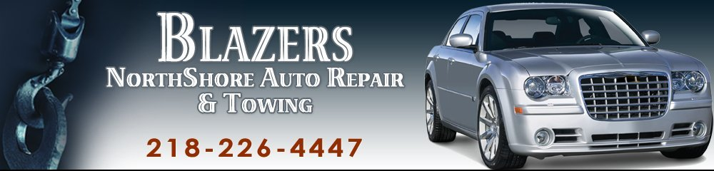 Auto Service Centers - Silver Bay, MN - Blazers NorthShore Auto Repair And Towing