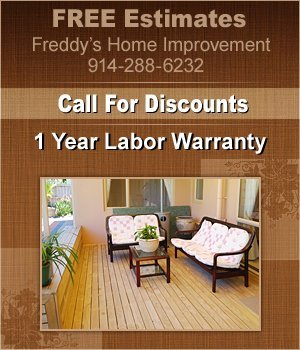 Deck Finishing - Spring Valley, NY - Freddy's Home Improvement